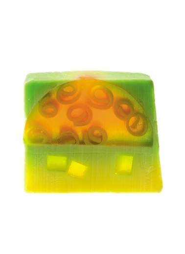 Bomb Cosmetics Pineapple Party Sabun Dilimi 100g Renkli